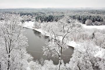 Vilnius Under Snow