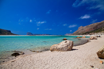 Pure Sea in Balos Lagoon