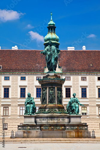 \monument to Emperor Franz Joseph I in Vienna