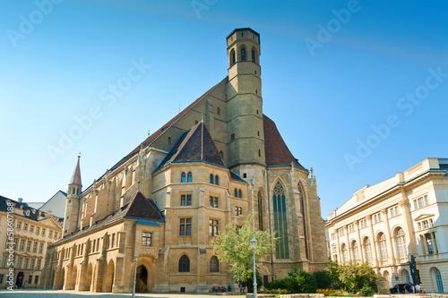 church in Vienna Minoritenkirche