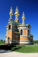 Russische Kapelle auf der Mathildenhöhe in Darmstadt