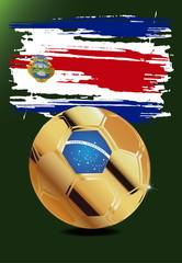 Costa Rica in Soccer WM Brazil 2014
