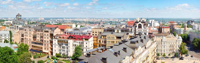 Panorama of Kiev city center