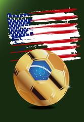 Usa in Soccer WM Brazil 2014