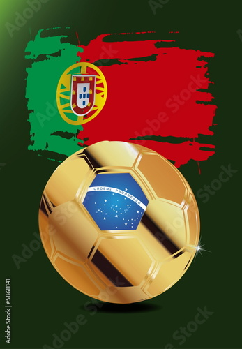Portugal in Soccer WM Brazil 2014