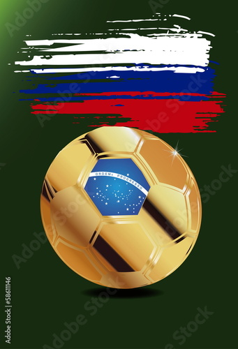 Russia  in Soccer WM Brazil 2014