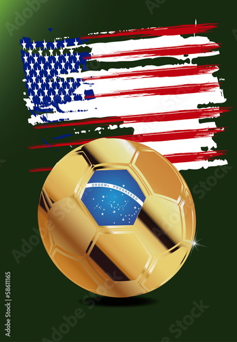 Usa in Soccer WM Brazil 2014