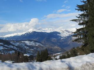 Savoie - Valmorel - Paysage d'hiver