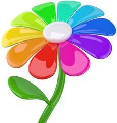Blume Farbpalette