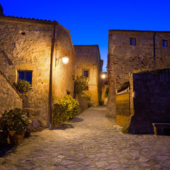 Civita di Bagnoregio landmark, medieval village. Italy