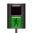 Semaforo pedonale verde
