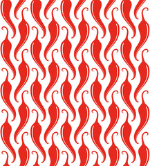 Chili Pepper. Pattern