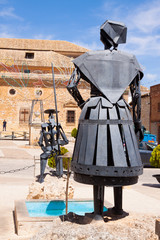 Monument of Don Quixote and Dulcinea in El Toboso