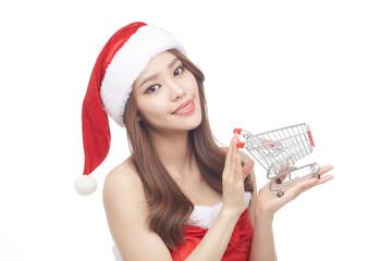GPP0004010 Christmas santa girl