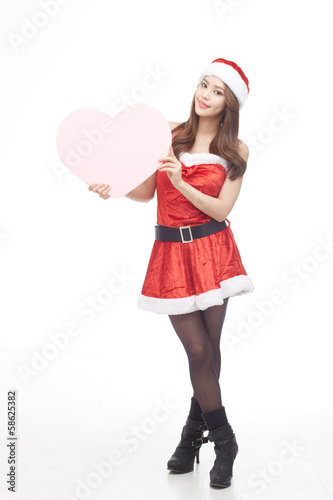 GPP0004040 Christmas santa girl