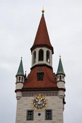 Alte Rathaus, Marienplatz - monaco di Baviera