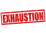 Exhaustion stamp