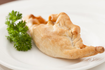 pasty with meat