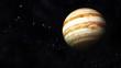 Постер, плакат: Jupiter and Asteroids