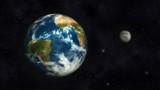 Earth and Moon - 58627731