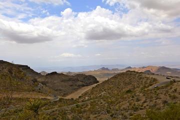 paysage de la Route 66, Arizona