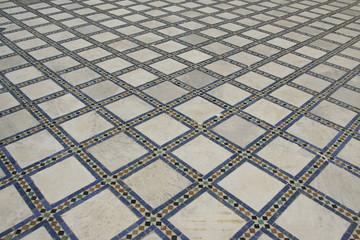 Marrakesh palace floor