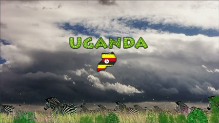 African background, Uganda