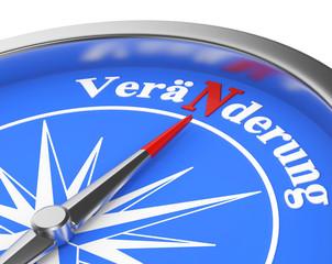 Kompass veränderung