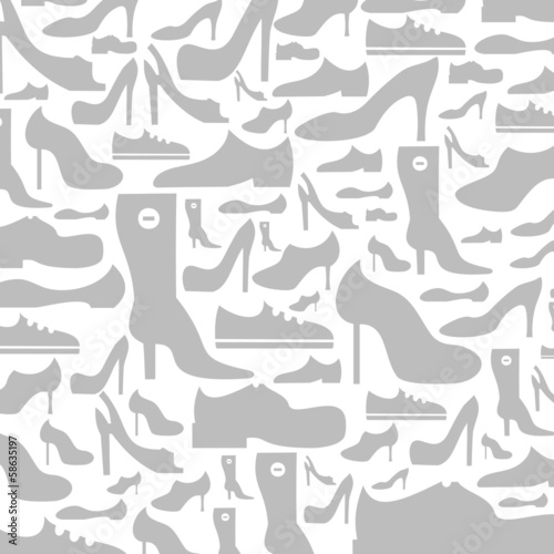 Footwear a background
