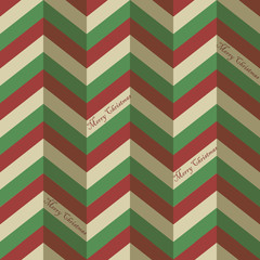 Seamless zigzag pattern for a Christmas wrapping paper