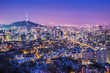 Seoul, South Korea Skyline