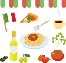 イタリアの料理や食材