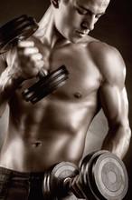 Muskularny mężczyzna