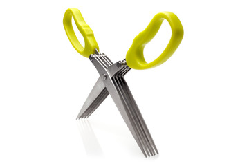 Herb scissors with comb