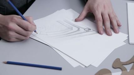 Рисунок архитектор