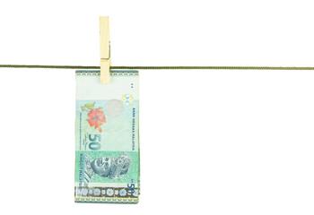 Malaysia 50 Ringgit MYR Bank Notes