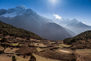 trekking  Everest Foothills Nepal
