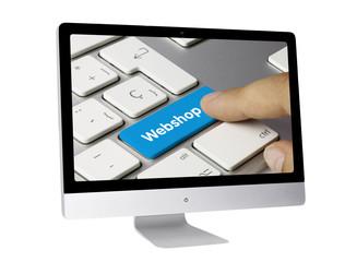 Webshop. Modern computer