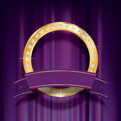 purple stage ring banner