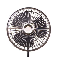 Electric fan isolated on white background