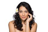 Beauty Portrait Of A Beautiful Smiling Woman