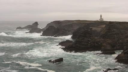 rochers et vagues