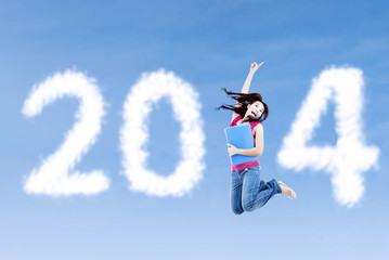 New year 2014 for student