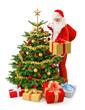 Der Weihnachtsmann in Action