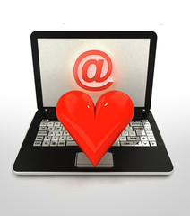 internet surfing and search info and finding love