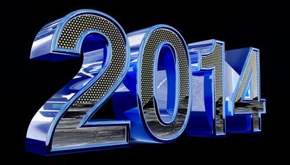 2014 blue-black