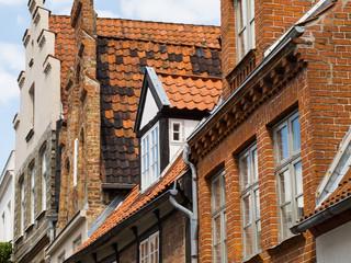 Hausgiebel, Lübeck