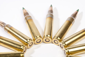 High caliber ammo