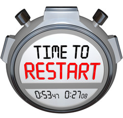 Time to Restart Stopwatch Timer Redo Refresh Reinvent