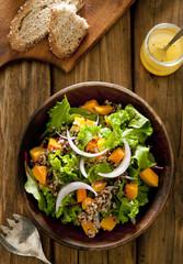 quinoa salad with butternut squash